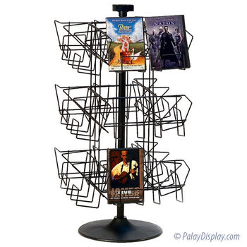 DVD Display - Spinner Rack