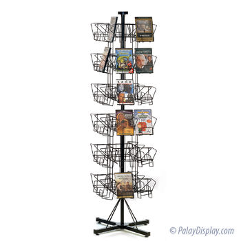 Revolving Rack - DVD Display Spinner Rack