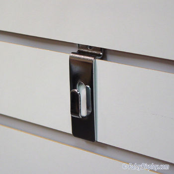Slatwall Utility Hook Chrome