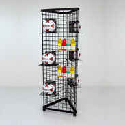 3 Sided Grid Tower - 6ft High