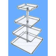 4 Tier Display Tray Tower