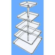 5 Tier Display Tray Tower