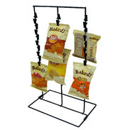 Black Counter Chip Rack - 36 Clips