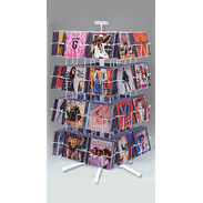 CD Display - 32 Pocket Spinner Rack