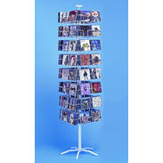 CD Display - 64 Pocket Spinner Rack