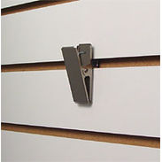 Deluxe Hang-All Metal Slatwall Clips