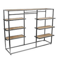 Double Sided Shelf/Hangrail Unit