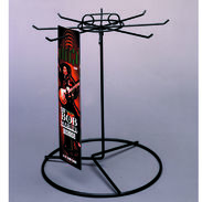 Eight Peg Long Product Spinning Rack
