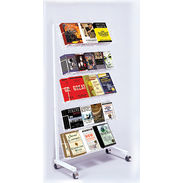 Floor Rack - 5 Shelf Mobile Merchandiser