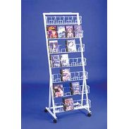 Floor Rack - 7 Level DVD Merchandiser