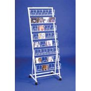 Floor Rack - 8 Level CD Merchandiser