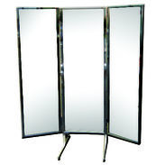 Free Standing 3-Way Alcove Mirror