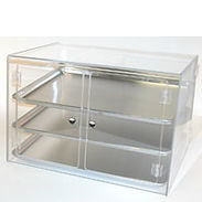 Full-Size Sheet Pan Display Case Self Serve