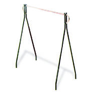 "Garment Rack - Black Beauty Rack 63"" High"