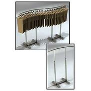 Garment Rack - Single Rail C-Shaped