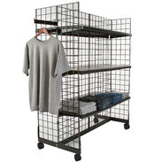 Grid Gondola Merchandiser - 4ft High