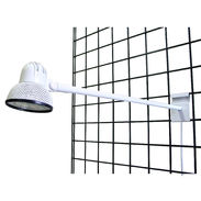 Gridwall Display Light - White