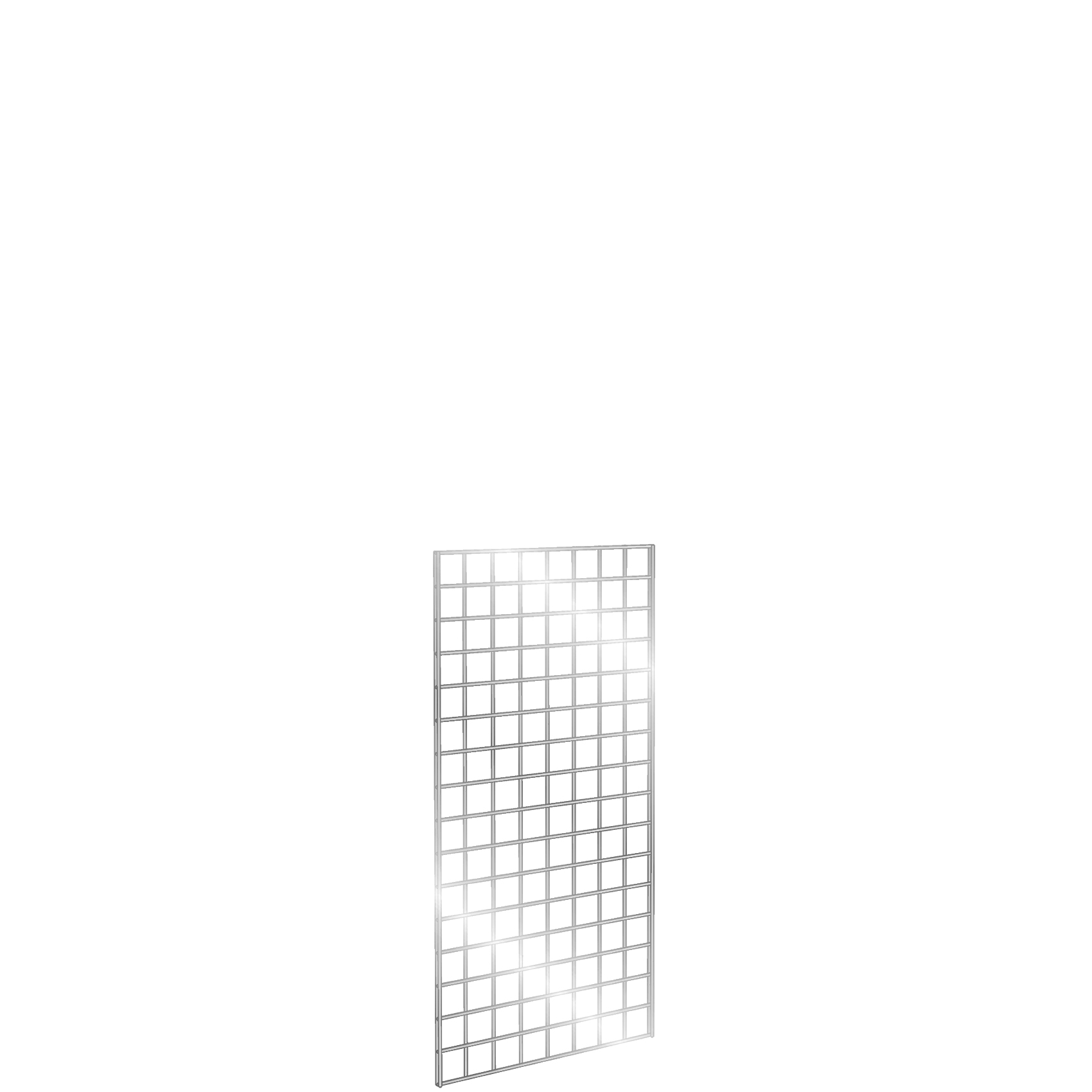 Gridwall Panel 2' x 4' Chrome