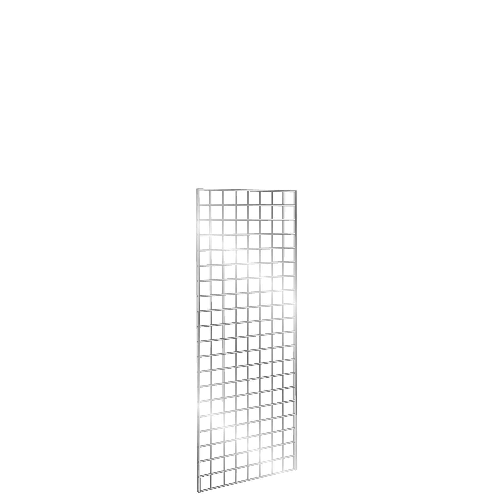 Gridwall Panel 2' x 5' Chrome