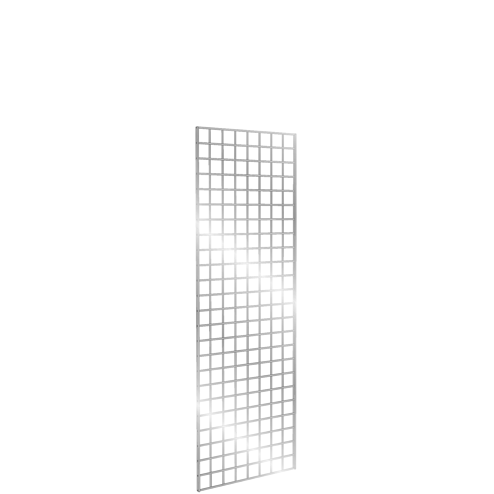 Gridwall Panel 2' x 6' Chrome