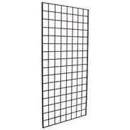 Gridwall Panel 2' x 7' Black - Upper Midwest Delivery Area