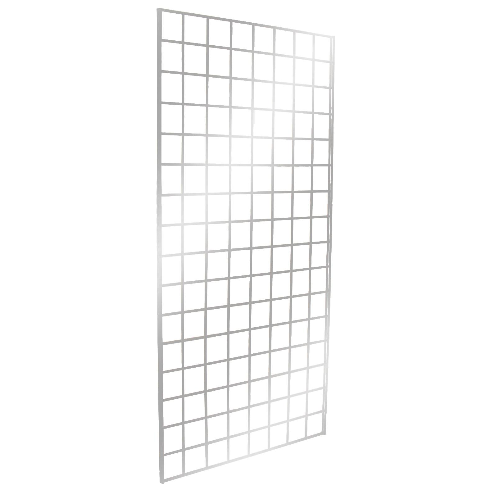 Gridwall Panel 2' x 8' Chrome - Upper Midwest Delivery Area