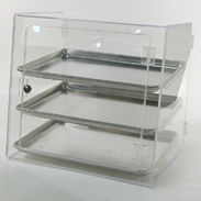 Half-Size Sheet Pan Display Case Self Serve