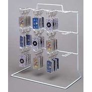 Keychain Display Counter Rack - 12 Loop Hooks