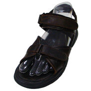 Men's Sport Sandal Form, Left - Clear Open Bottom
