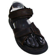 Men's Sport Sandal Form, Right - Clear Open Bottom