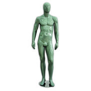 Metro Series Male Mannequin - Hands By Sides - Gloss Gray
