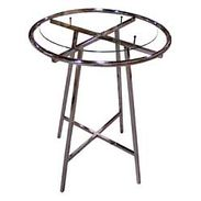 "Rack Accessories - 36"" Diameter Glass Top 3/16"""