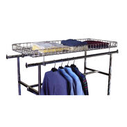 Rack Accessories - Double Rail Rack Grid Shelf