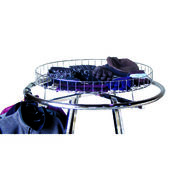 "Rack Accessories - Grid Round Top Shelf 30"" Diameter"
