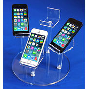 Round Cell Phone Display Group