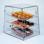 Self Serve Bakery Display Case - Three Tier
