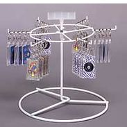 Six Peg Single Tier Spinning Rack