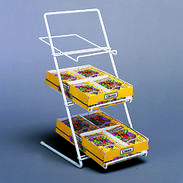 Slant Back Counter Rack