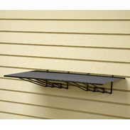 Slatwall Metal Shelf