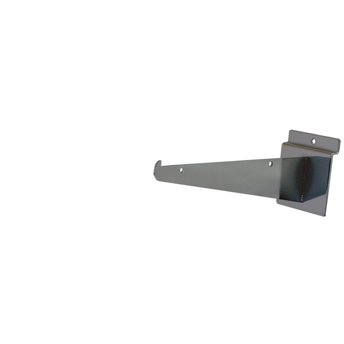 "Slatwall Shelf Bracket 8"" Chrome"