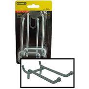 "Super Duty Straight Double Pegboard Hooks 3""L"