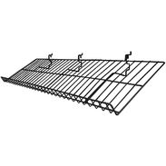 "Universal Slant Shelf with Lip - 12""D x 46""W"
