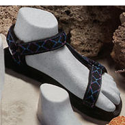 Women's Sport Sandal Form, Left - Grey Sprinkle