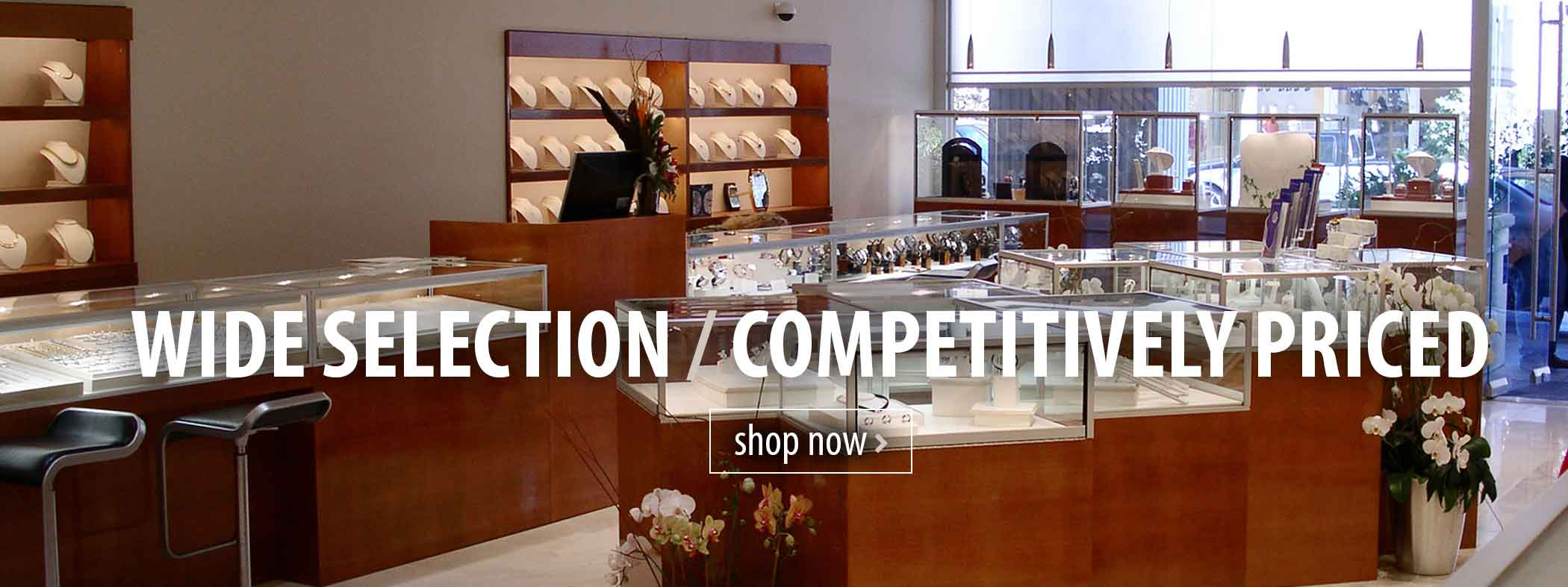 Wide selection on Display Cases and Counters